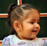 Смеясь над ребёнок Стоковые Изображения