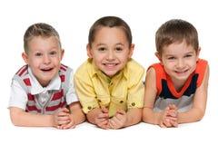 3 смеясь над друз Стоковые Фотографии RF