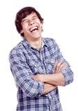 смеясь над человек Стоковые Изображения RF