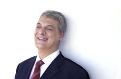 смеяться над бизнесмена Стоковые Фотографии RF
