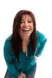 смеяться над девушки счастливый живой стоковая фотография