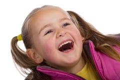 смеяться над малыша Стоковое Фото
