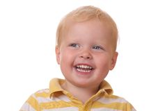 смеяться над малыша Стоковые Фото