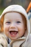 смеяться над младенца стоковые изображения