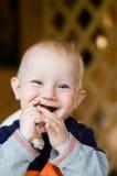 смеяться над младенца стоковые фотографии rf