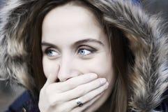 смеяться над blueyes Стоковые Фотографии RF