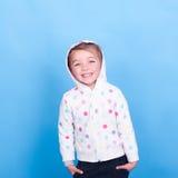 смеяться над малыша девушки Стоковая Фотография