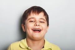 смеяться над малыша Стоковое фото RF
