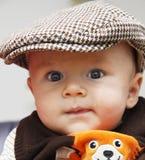 смеяться над младенца Стоковые Фото