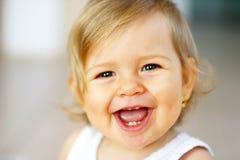 смеяться над младенца Стоковые Изображения RF