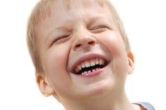 смеяться над ребенка Стоковое Изображение