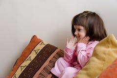 смеяться над ребенка Стоковая Фотография