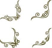 смогите загонять различные флористические используемые цели в угол иллюстрации Стоковые Изображения RF