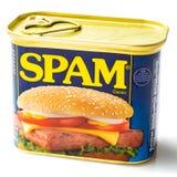 Смогите классики спама стоковое фото