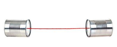 смогите позвонить по телефону олову Стоковая Фотография