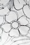 смогите различная флористическая используемая текстура целей иллюстрации Стоковое фото RF