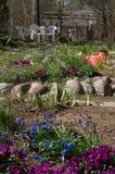 смогите садовничать стоковое фото