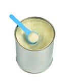 Смогите с сухим молоком. Стоковое Изображение