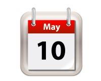 Смогите calendar Стоковые Фотографии RF