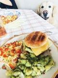 смогл расстегай еды домодельный Стоковая Фотография