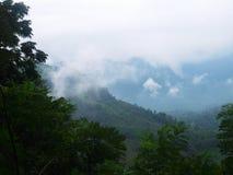 Смогла гора Стоковое фото RF