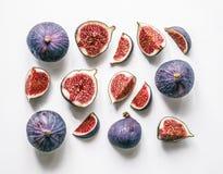 смоквы свежие Фото еды Стоковые Изображения RF