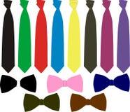 смокинг галстуков бабочек Стоковые Фотографии RF