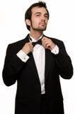 смокинг человека Стоковое Фото