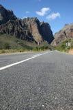 смолка дороги гор ashphalt Стоковое Изображение RF