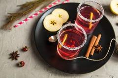 Смородина Morse красная с циннамоном и лимоном Стоковое Изображение RF