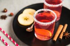Смородина Morse красная с циннамоном и лимоном Стоковое Изображение