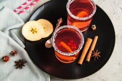 Смородина Morse красная с циннамоном и лимоном Стоковые Изображения RF