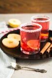 Смородина Morse красная с циннамоном и лимоном Стоковые Фото
