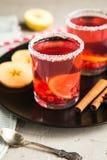 Смородина Morse красная с циннамоном и лимоном Стоковая Фотография RF