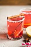 Смородина Morse красная с циннамоном и лимоном Стоковые Фотографии RF