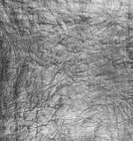 Сморщенная бумага, используемая как текстура предпосылки Стоковые Изображения
