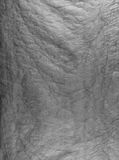 Сморщенная бумага, используемая как текстура предпосылки Стоковое Изображение RF