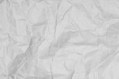 сморщенная бумага предпосылки Стоковая Фотография RF