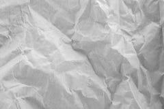 сморщенная бумага предпосылки Стоковое Изображение RF