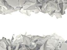 сморщенная бумага Стоковая Фотография