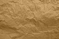 Сморщенная бумага Стоковое Изображение