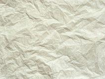 Сморщенная бумага Стоковая Фотография RF