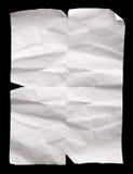 сморщенная бумага Стоковые Изображения RF