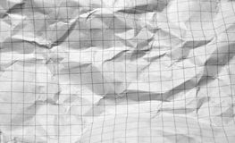 сморщенная бумага Стоковое Фото