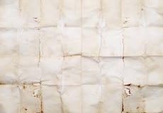 сморщенная бумага grunge Стоковое Фото