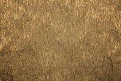 Сморщенная золотом бумажная предпосылка конспекта текстуры Текстура золота бумажная Стоковые Фото