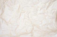 Сморщенная пергаментная бумага Стоковое Изображение RF
