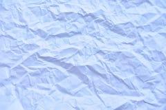сморщенная creased белизной бумажная текстура предпосылки Стоковые Изображения