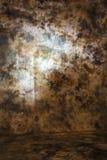 Сморщенный фон холста с космосом экземпляра Стоковые Фотографии RF
