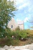 Смотреть вверх все сразу: Взгляд Ingenue часовни Kumler в университете Майами Стоковые Фото